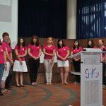 Die Schülerinnen  erläutern ihre Beweggründe, sich für dieses Projekt einzusetzen.