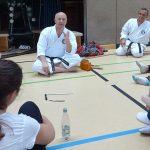 Die Trainer Paulus und Reiter vom Karatecentrum Dojo Weiden